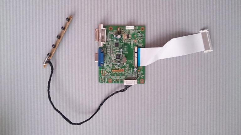 ремонт платы управления монитора