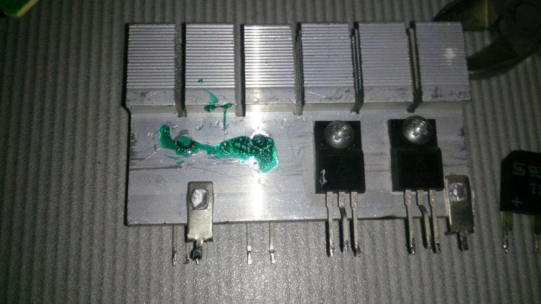 замена полевых транзисторов