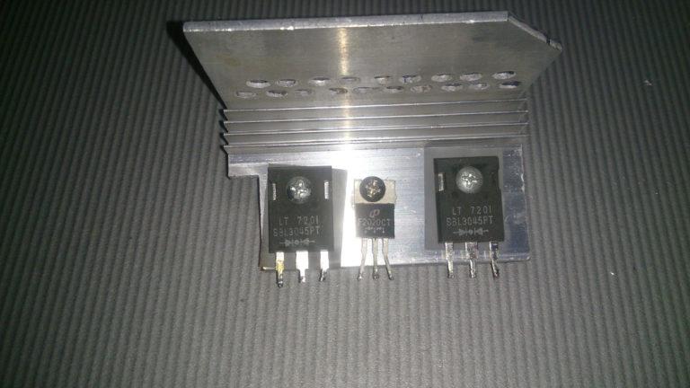 замена транзисторов